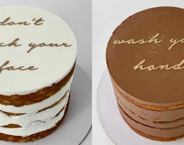 Quarantine cakes