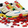 Children's Building Blocks Inspired Footwear
